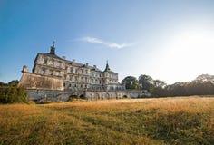 Κάστρο Pidhirtsi στην Ουκρανία Στοκ Φωτογραφίες
