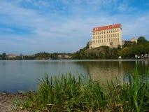 Κάστρο Plumlov Στοκ Εικόνα