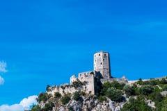 Κάστρο Pocitelj Στοκ εικόνες με δικαίωμα ελεύθερης χρήσης