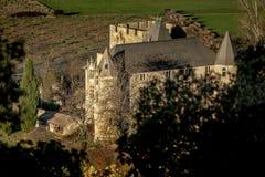 Κάστρο Provicial στην Προβηγκία, Γαλλία Στοκ εικόνα με δικαίωμα ελεύθερης χρήσης