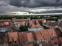 Κάστρο Reszel στην Πολωνία Στοκ Εικόνες