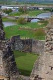 κάστρο rhuddlan Στοκ φωτογραφία με δικαίωμα ελεύθερης χρήσης