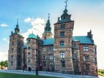 Κάστρο Rosenborg, Κοπεγχάγη, Δανία Στοκ φωτογραφίες με δικαίωμα ελεύθερης χρήσης