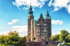 Κάστρο Rosenborg, Κοπεγχάγη, Δανία Στοκ εικόνες με δικαίωμα ελεύθερης χρήσης