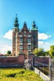 Κάστρο Rosenborg, Κοπεγχάγη, Δανία Στοκ φωτογραφία με δικαίωμα ελεύθερης χρήσης