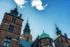 Κάστρο Rosenborg, Κοπεγχάγη, Δανία Στοκ Φωτογραφία