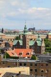κάστρο rosenborg Κοπεγχάγη Δανία Στοκ Φωτογραφίες