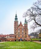 Κάστρο Rosenborg, Κοπεγχάγη, Δανία Στοκ Φωτογραφίες