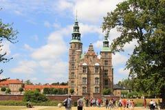 Κάστρο Rosenborg, Κοπεγχάγη Στοκ Εικόνες