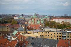 Κάστρο Rosenborg στο τοπίο φθινοπώρου της Κοπεγχάγης Στοκ φωτογραφίες με δικαίωμα ελεύθερης χρήσης