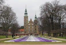 κάστρο rosenborg Στοκ Εικόνες