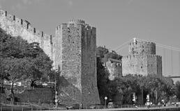 κάστρο rumelian Στοκ φωτογραφίες με δικαίωμα ελεύθερης χρήσης