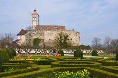 Κάστρο Schallaburg στην κοιλάδα Δούναβη Στοκ Εικόνες