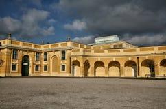 κάστρο schronnbrunn Βιέννη της Αυστρί&a Στοκ Φωτογραφία