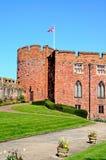 κάστρο shrewsbury Στοκ εικόνα με δικαίωμα ελεύθερης χρήσης