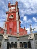 Κάστρο Sintra, εθνικό παλάτι Pena στοκ φωτογραφία με δικαίωμα ελεύθερης χρήσης