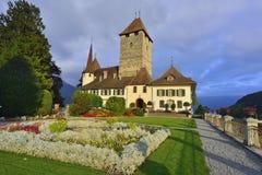 Κάστρο Spiez Στοκ φωτογραφίες με δικαίωμα ελεύθερης χρήσης