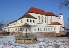 Κάστρο Spilberk το χειμώνα, Μπρνο, Τσεχία Στοκ φωτογραφίες με δικαίωμα ελεύθερης χρήσης