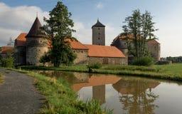 Κάστρο Svihov νερού Στοκ φωτογραφία με δικαίωμα ελεύθερης χρήσης