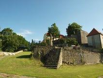 Κάστρο Svojanov, ghotic κήπος στοκ φωτογραφία με δικαίωμα ελεύθερης χρήσης