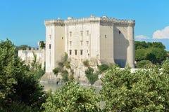 Κάστρο Tarascon στη Γαλλία Στοκ Εικόνες
