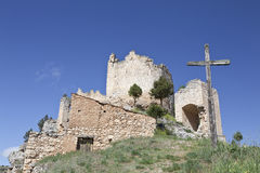 κάστρο templar στοκ εικόνες