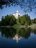 κάστρο trakoscan στοκ εικόνες