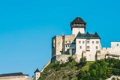 Κάστρο Trencin, Σλοβακία στοκ φωτογραφία