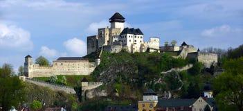 Κάστρο Trencin, Σλοβακία στοκ εικόνα