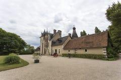 Κάστρο Troussay, το μικρότερο κάστρο στην κοιλάδα της Loire Στοκ φωτογραφία με δικαίωμα ελεύθερης χρήσης