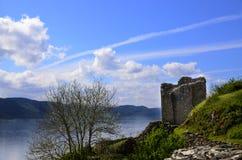 κάστρο urquhart Στοκ φωτογραφία με δικαίωμα ελεύθερης χρήσης