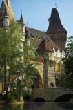 κάστρο vajdahunyad Στοκ Φωτογραφίες