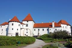 Κάστρο Varazdin, Κροατία Στοκ Φωτογραφίες