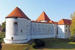 Κάστρο Varazdin, Κροατία Στοκ Εικόνες
