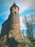Κάστρο Velhartice το Μάιο Στοκ φωτογραφία με δικαίωμα ελεύθερης χρήσης