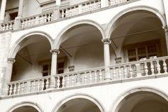 κάστρο wawel Στοκ φωτογραφία με δικαίωμα ελεύθερης χρήσης