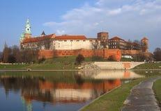 κάστρο wawel στοκ εικόνες με δικαίωμα ελεύθερης χρήσης