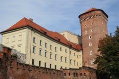 κάστρο wawel Στοκ εικόνα με δικαίωμα ελεύθερης χρήσης