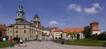 κάστρο wawel Στοκ Εικόνα