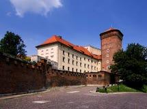 κάστρο wawel Στοκ Εικόνες