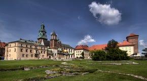 κάστρο wawel Στοκ Φωτογραφία