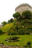 Κάστρο Windsor κοντά στο Λονδίνο Στοκ Εικόνα