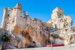 κάστρο zuheros στοκ εικόνα