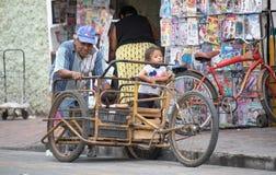 Κάτοικοι του Βαγιαδολίδ, Μεξικό Στοκ εικόνα με δικαίωμα ελεύθερης χρήσης