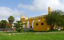 Κάτοικος αποικίας του Μέριντα καθεδρικών ναών εκκλησιών του Μεξικού Στοκ Εικόνα
