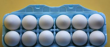κάτοχος αυγών χαρτοκιβ&omega Στοκ Εικόνες