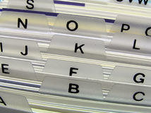 κάτοχος επαγγελματικών καρτών Στοκ φωτογραφία με δικαίωμα ελεύθερης χρήσης