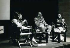 Κάτοχος και Eartha Kitt του Geoffrey Στοκ φωτογραφία με δικαίωμα ελεύθερης χρήσης
