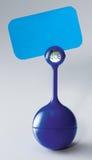 Κάτοχος υπομνημάτων με το ψηφιακό ρολόι Στοκ εικόνες με δικαίωμα ελεύθερης χρήσης