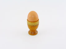Κάτοχος φλυτζανιών αυγών Στοκ εικόνες με δικαίωμα ελεύθερης χρήσης